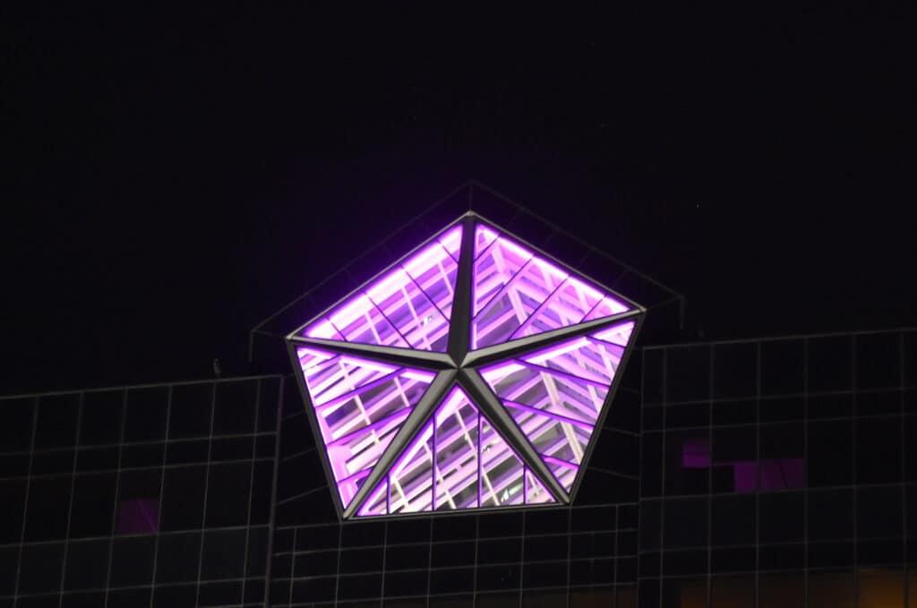 Purple pentastar