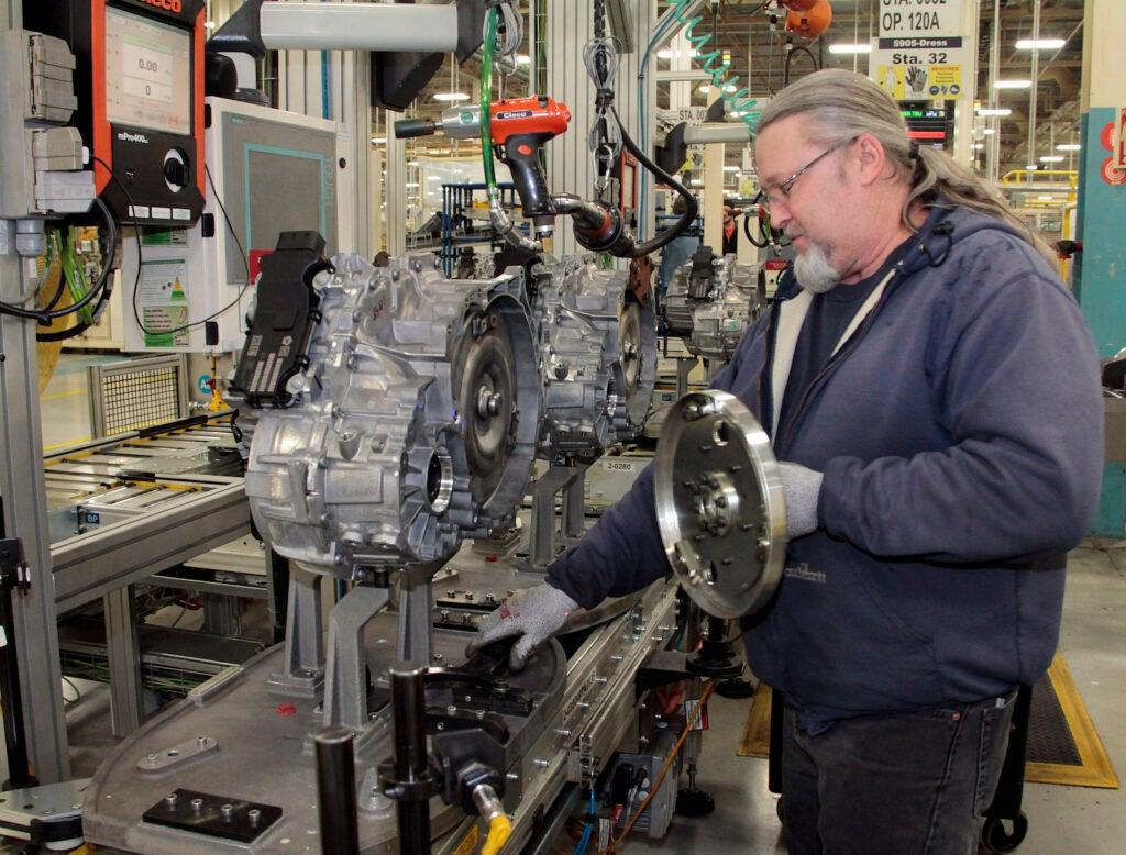 Stellantis Kokomo transmission plant 1 man
