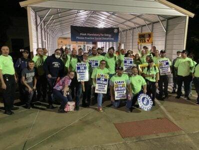 ZF Marysville UAW workers